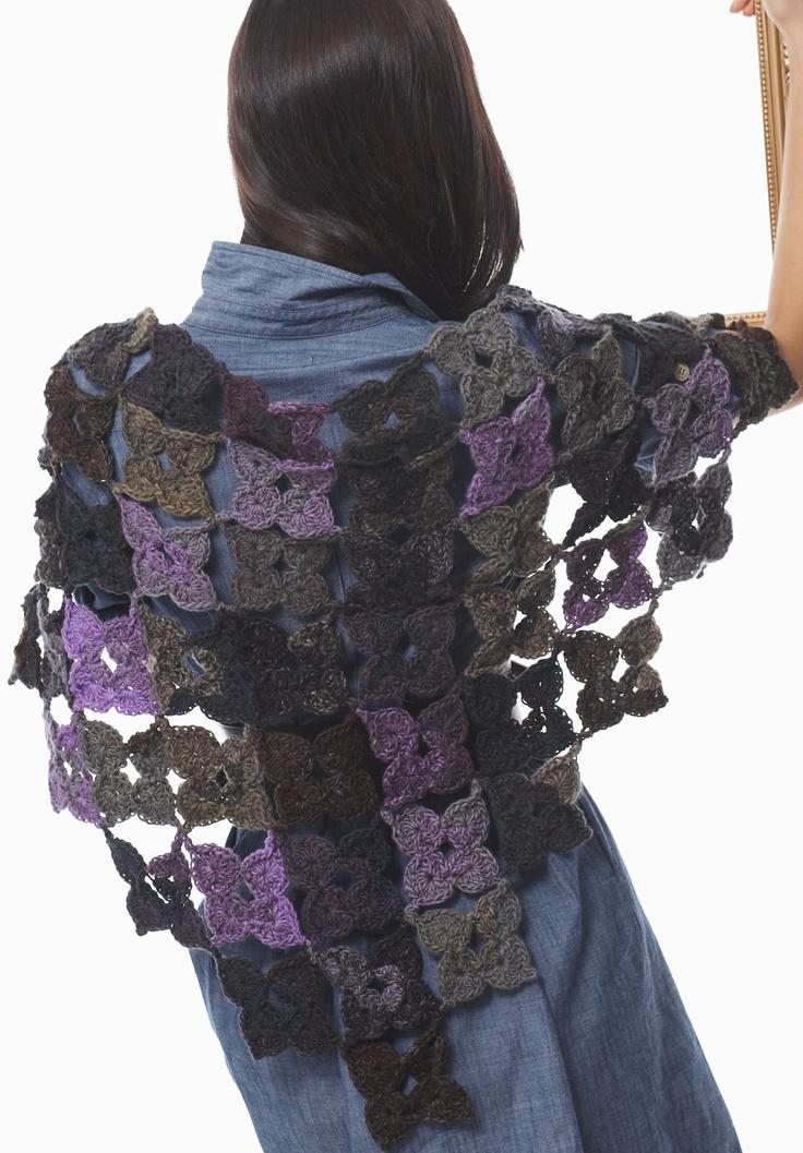 Bernat Mosaic Yarn Free Crochet Patterns : 35 best images about Knitting on Pinterest Tote pattern ...