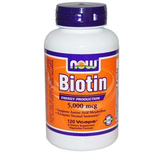iHerb.com - Customer Reviews -Now Foods, Biotin, 5,000 mcg, 120 Vcaps