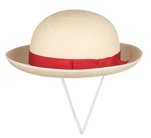 Traditional Girls Panama Hat With Red Band. Size 7 1/4 Or 59cms