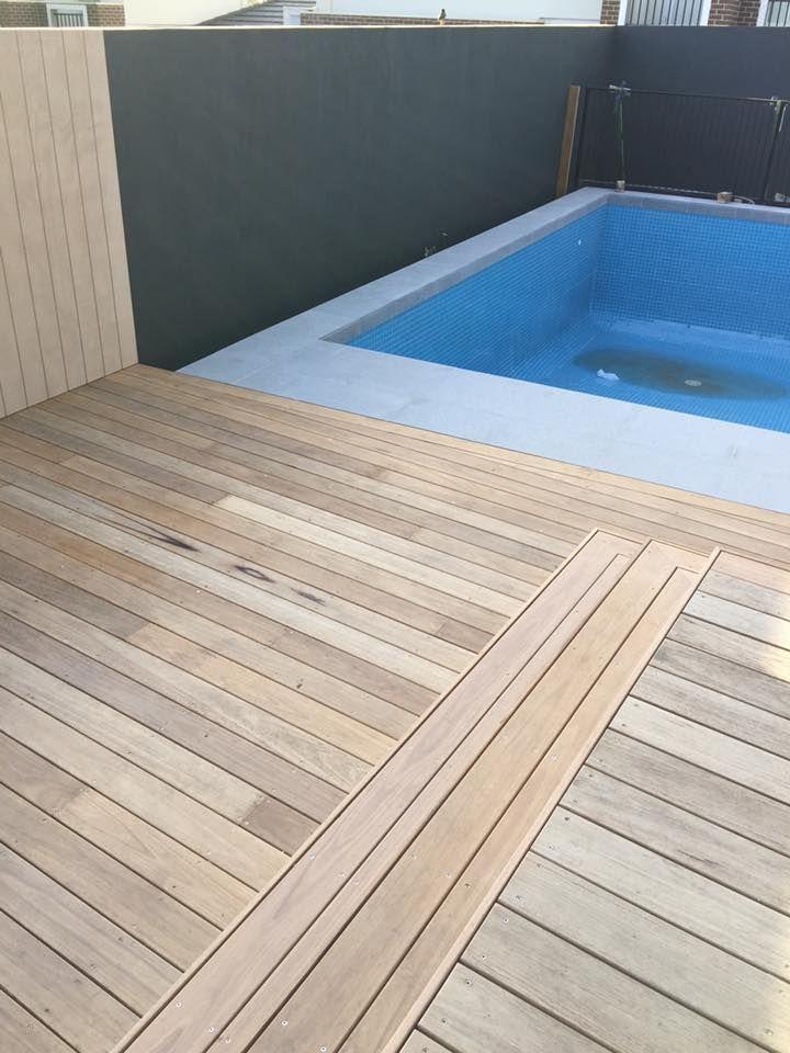 Blackbutt timber deck. Built by AMG Constructions. www.amgconstructions.com.au