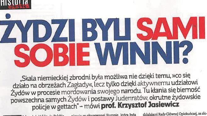 Kiedy polski profesor przemawia jak nazista