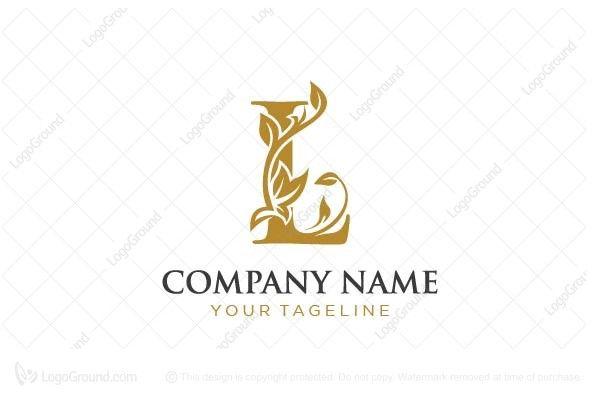 Luxurious Letter L Logo Letter L Logo Logo Alphabet L Logo Design Letter
