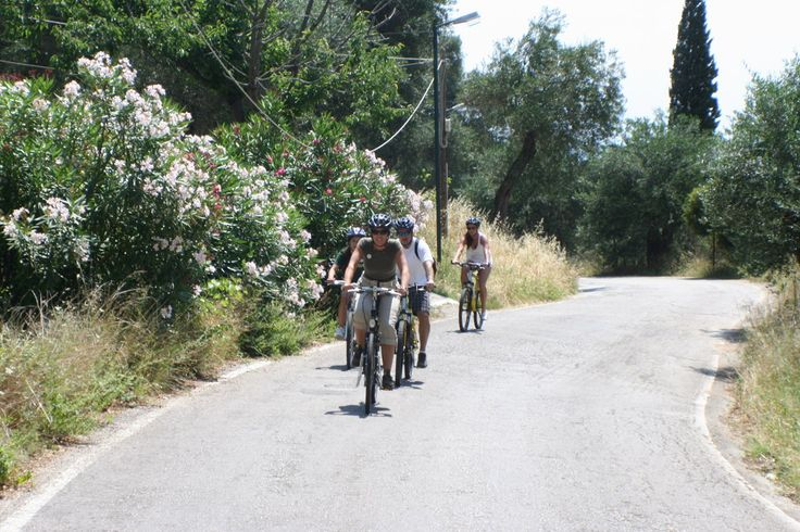 """""""Corfu is, according to the people who come here to cycle, the perfect place for a cycli...!"""""""