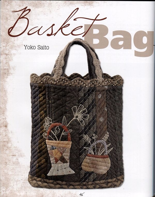 77 best Yoko Saito images on Pinterest | Fabrics, Clutch bags and ... : japanese quilting books - Adamdwight.com