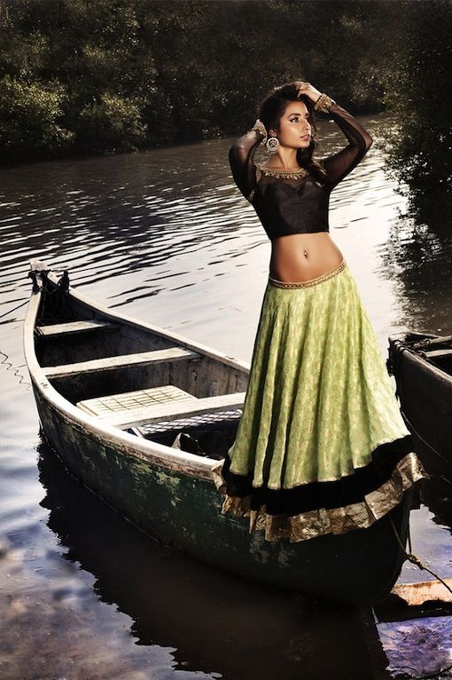 Designer Sapana Amin Indian Bridal Fall/Winter 2012 Collection via IndianWeddingSite.com