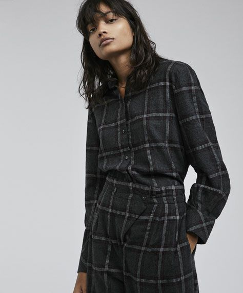 Checked trousers - 2