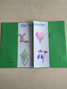 Arnienotizblog: Lapbookbeispiel Kalender