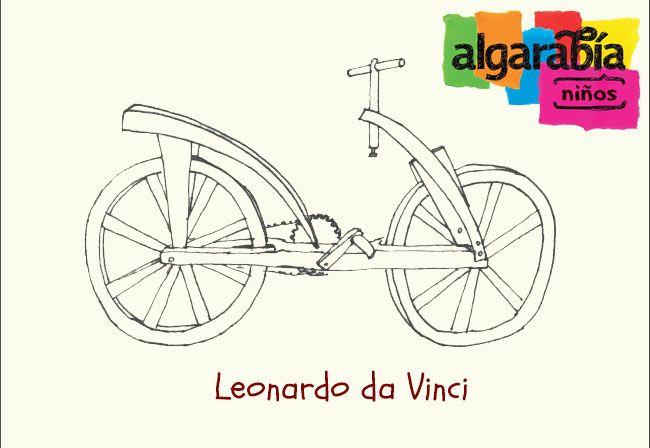 La evolución de la bicicleta http://algarabianinos.com/