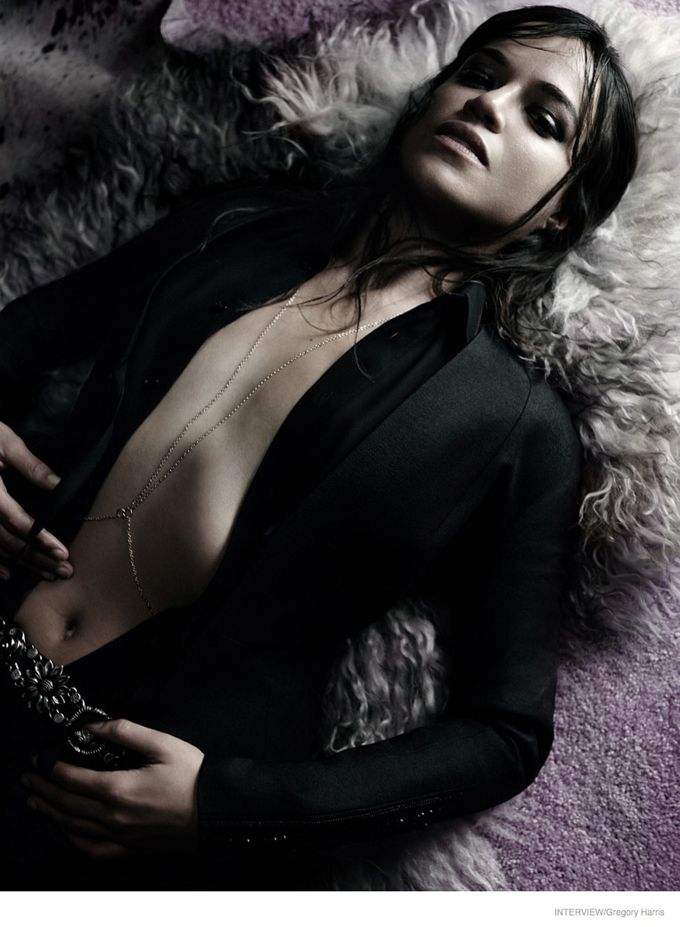 Мишель Родригес в Interview Magazine \ Celebrities - Michelle Rodriguez
