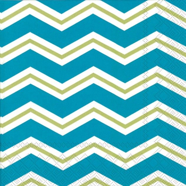 paper napkins - Chevron on Ice Kiwi Beverage Napkins. party supplies available also in Lunch size and other color combinations.  sc 1 st  Pinterest & 73 best Modern Design Paper Plates u0026 Napkins images on Pinterest ...