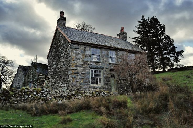 The mystery of the home's previous owners has baffled those who stumble across the stone cottage - but there are plenty of clues inside