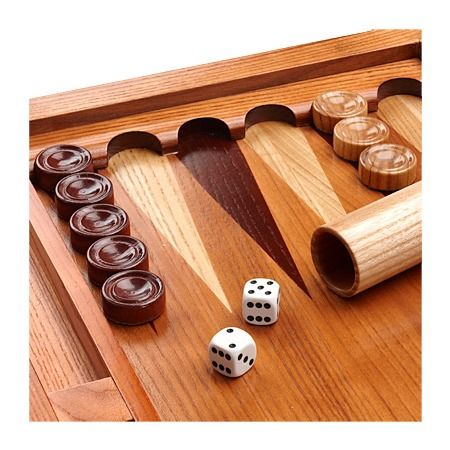 """22"""" Wooden Backgammon Set from ASPINAL OF LONDON"""