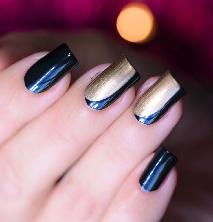 339 best mes nail art images on pinterest stamping nail arts nail art bicolore pour les ftes prinsesfo Images