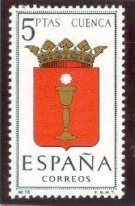 1963 España-Escudo de la Provincia de Cuenca