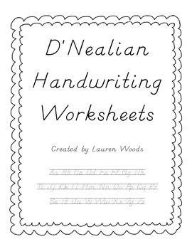 d 39 nealian handwriting worksheets handwriting handwriting worksheets dnealian handwriting. Black Bedroom Furniture Sets. Home Design Ideas