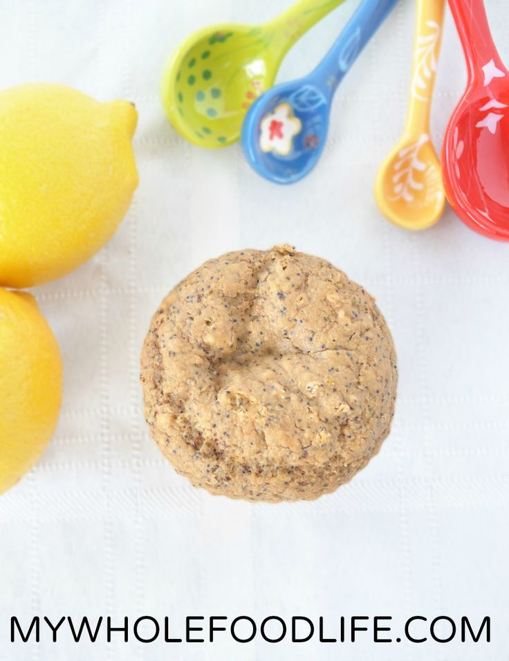 Healthy Lemon Poppy Seed Muffins are vegan and gluten-free -- try these with xylitol instead of coconut sugar.