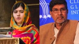 The Nobel Peace Prize goes to India's Kailash Satyarthi and Pakistan's Malala Yousafzai for fighting child suppression and promoting young people's rights. Malala gave a beautiful, inspiring speech that everyone should hear.