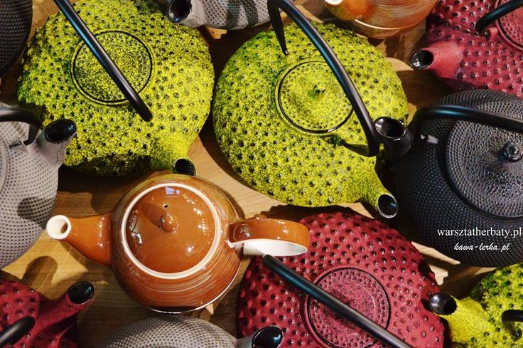 teapots, cup of tea, tea for one, medium size and big size. You can drink in cracow, poland - KawaLerka