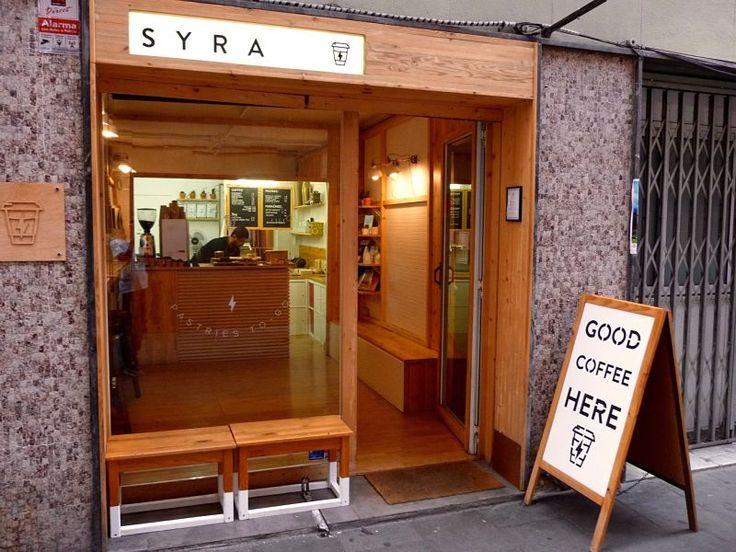 Syra Coffee, café en mano como en las películas