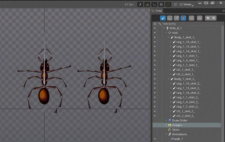 [Из песочницы] Анимация в Spine, советы и рекомендации, псевдо 3D эффект