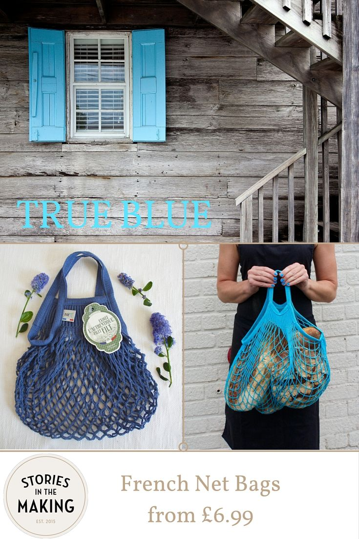 French Net Bags from £6.99 www.storiesinthemaking.co.uk