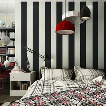 PAYSOTA 10M Roll black and white wide stripe wallpaper simple Cross vertical striped wall paper decor for living room background //Price: $US $39.60 & FREE Shipping //     #festive #party #birthdayparty #christmas #wedding decoration #event