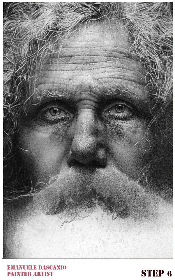 Best Emanuele Dascanio Hyper Realistic Images On Pinterest - Artist uses pencils to create striking hyper realistic portraits
