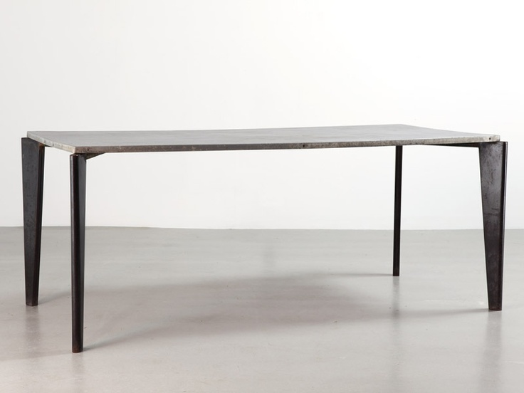 Jean prouv flavigny n 504 table 1951 living pinterest ux ui designer - Table basse jean prouve ...