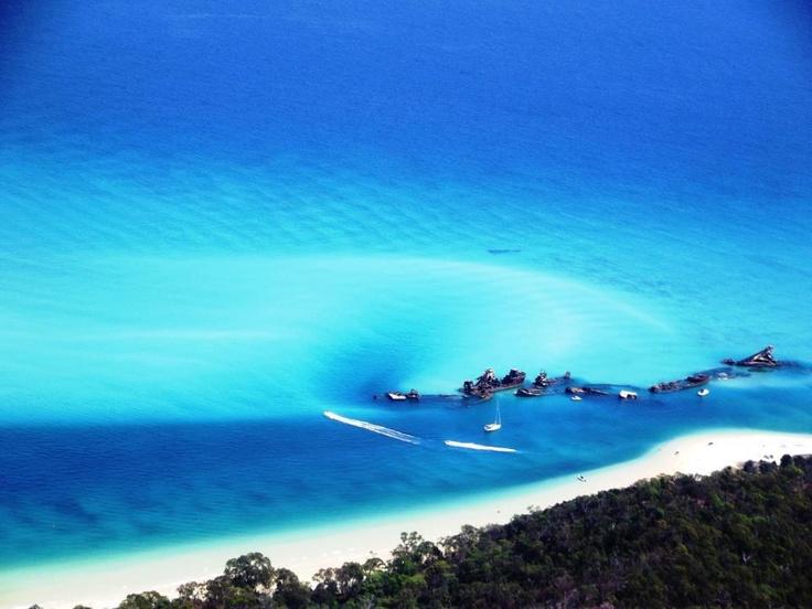 Tangalooma Wrecks, Moreton Bay, QLD
