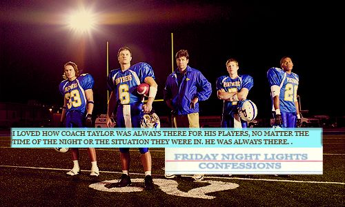 Friday Night Lights Confessions