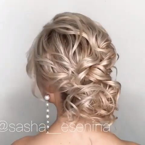 Long Wedding Hairstyles and Wedding Updos Ideas - diy wedding updo hairstyle tutorial #wedding #weddnghairstyles #hairstyles #tutorial