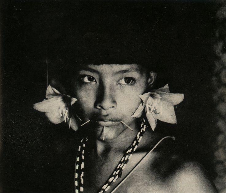 Young Yanomami woman, Amazonia, Venezuela