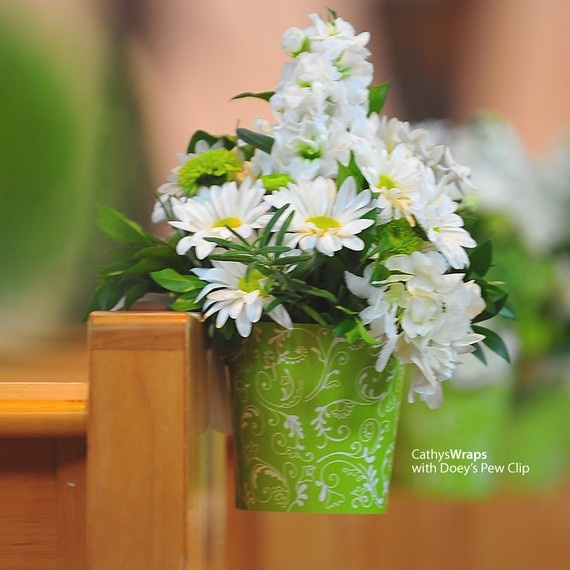 Double As Pew Decoration And Centerpieces Wedding