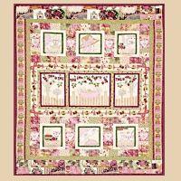 Lace and Grace Tea Party Quilt – Complete set | Artsmart Craft Cottage