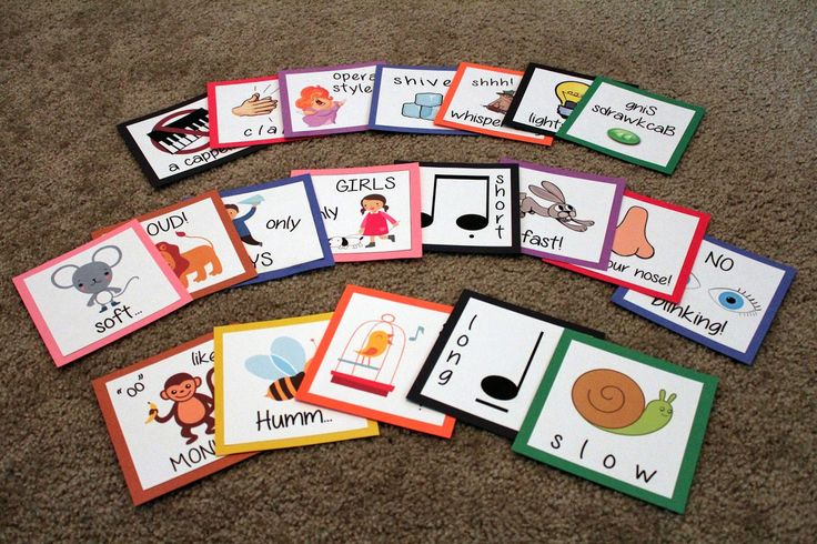 Kami's Primary Music Ideas: Review Activity: Ways to Sing Cards (More!)