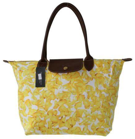 Longchamp Darshan Tote Bags Yellow