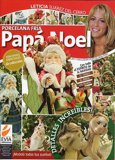 REVISTA PORCELANA PAPA NOEL