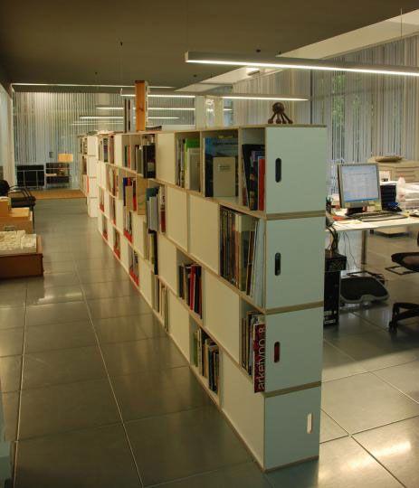 Estanterias librerias modulares para serparacion de espacios separadores de ambientes pinterest - Estanterias separadoras de ambientes ...