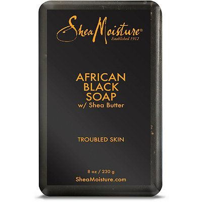 OMG. Gotta have this: SheaMoisture African Black Soap Bar Soap