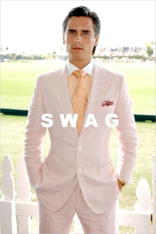 Scott Dissick... I'd say it's more so class than swag. But what ever. He is a jerk and it's hilarious.