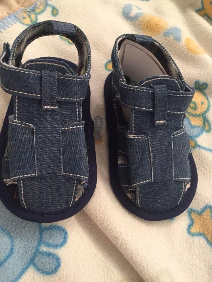Tienda Online Nuevo bebé azul Jean zapatos calados niños Toddler Prewalker Shoe primeros caminante envío gratis | Aliexpress móvil