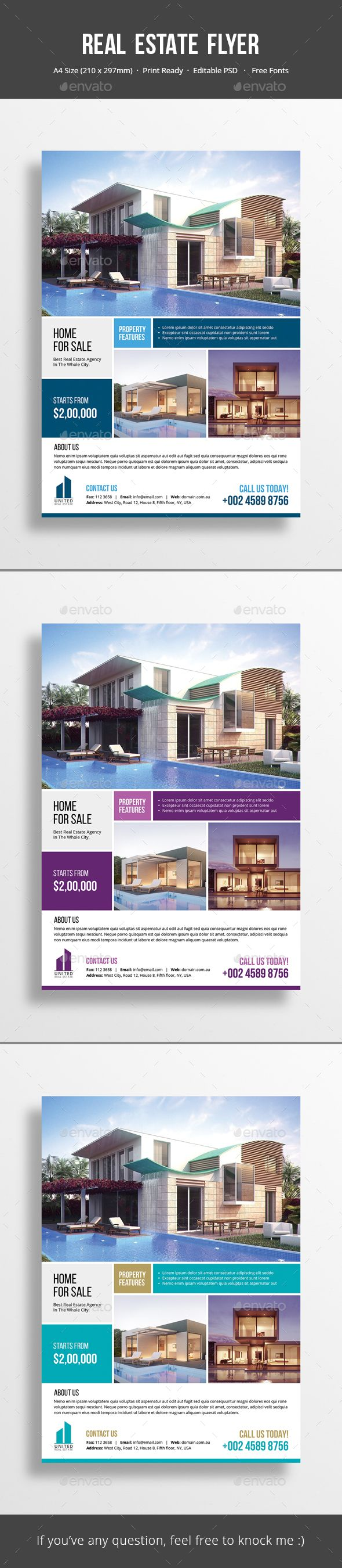 Best Flyers Images On Pinterest Brochures Page Layout And Charts - Real estate advertisement template