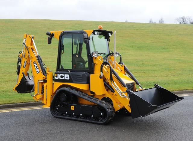 JCB Caterpillar Backhoe 1CX T #HeavyMachinery