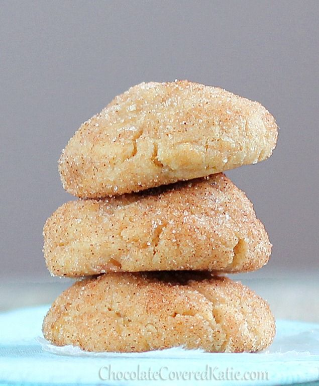 Cinnamon Sugar Pillow Cookies- these are like a cinnamon roll, a sugar cookie, and a cream cheese danish... all in the same cookie! http://chocolatecoveredkatie.com/2012/12/02/cream-cheese-stuffed-cinnamon-sugar-pillow-cookies/
