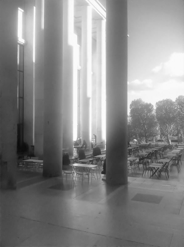 AMPt - Cafe Culture at Palais de Tokyo — Musée dArt Moderne by Maud
