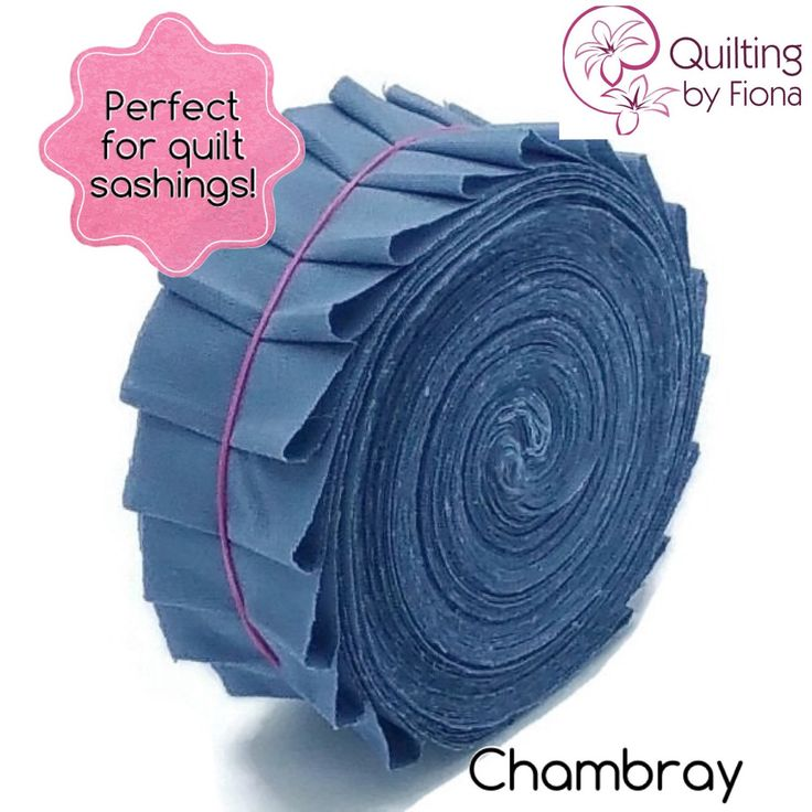 A personal favourite from my Etsy shop https://www.etsy.com/listing/231383838/20-chambray-blue-precut-honey-bun-fabric