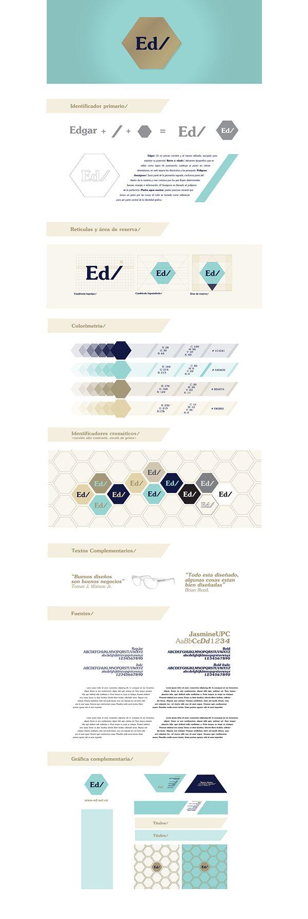 Marca personal para el cuarto modulo de Diseño Gráfico, materia dada por la profesora Marcela Arias.