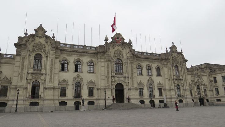 Presidential Palace in Lima - Photo by David Craig, Group Escort