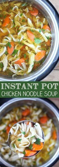 Instant Pot Pressure Instant Pot Pressure Cooker Chicken Noodle...  Instant Pot Pressure Instant Pot Pressure Cooker Chicken Noodle Soup -Tender chunks of chicken in a rich homemade chicken broth with big hearty veggies. Recipe : http://ift.tt/1hGiZgA And @ItsNutella  http://ift.tt/2v8iUYW