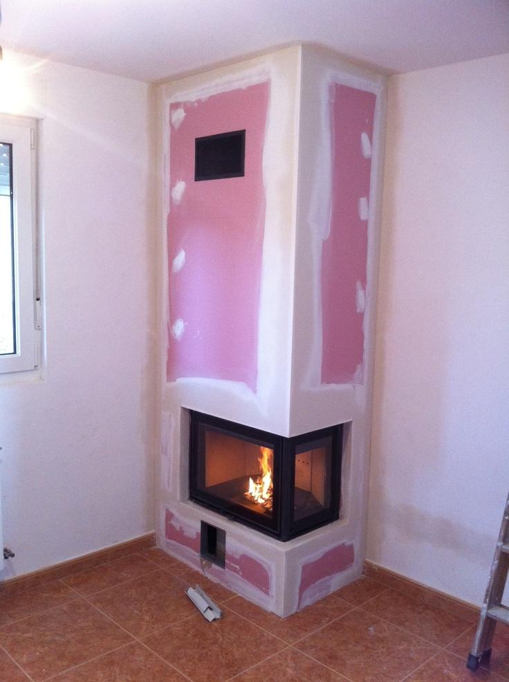 Dovre 2175 CBS3 por Ideas de Fuego en Soto del Barco. www.chimeneasasturias.com